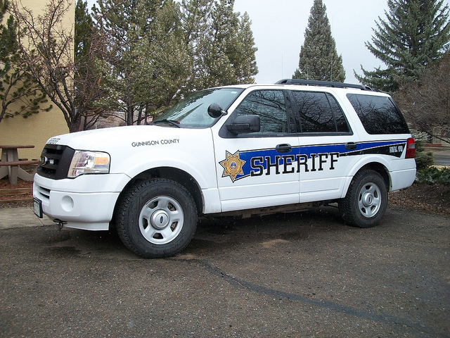 Gunnison County Sheriffs Office Car