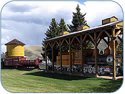 Narrow Gauge Railroad Image