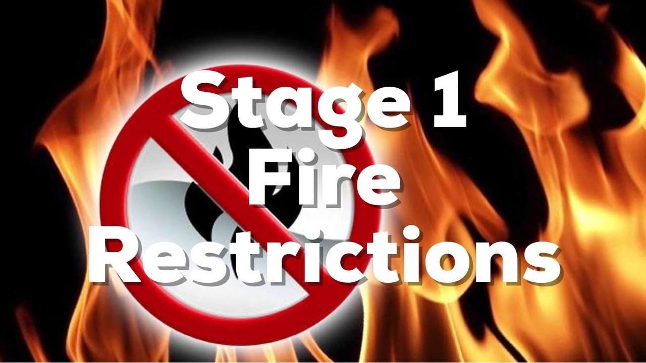 Stage 1 Restrictions